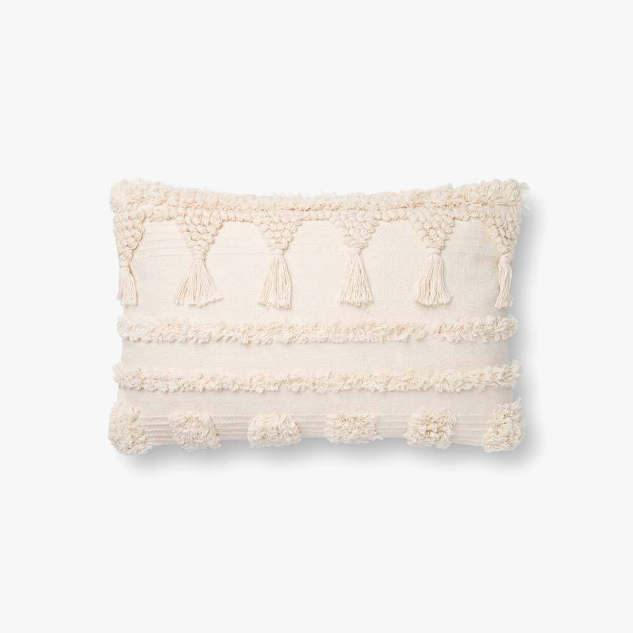 Ivory Boho Pillow [2 Sizes]