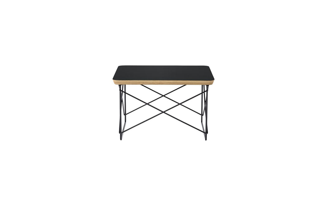 Eames Wire Base Low Table | Black + Black Leg