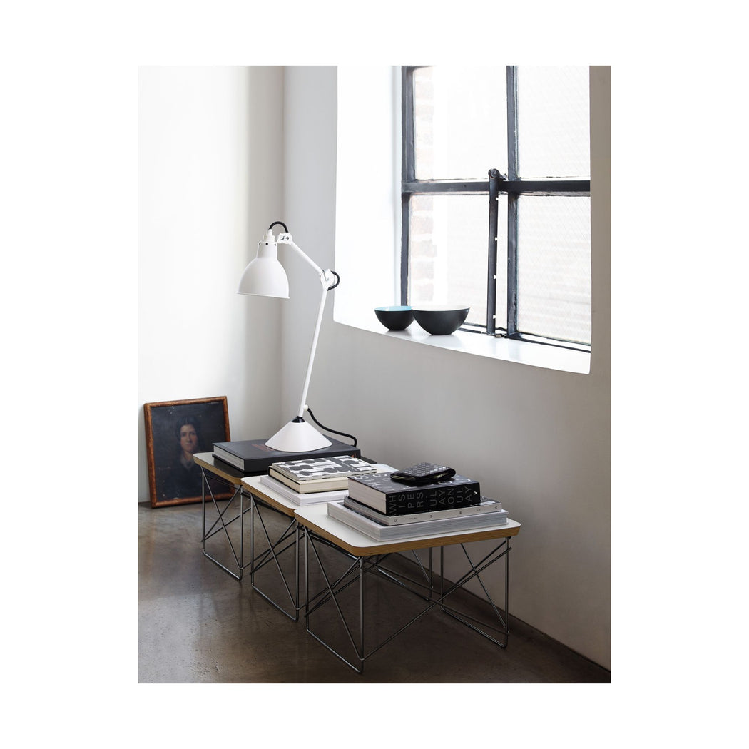 Freeship | Eames Wire Base Low Table | Black+ Chrome Leg