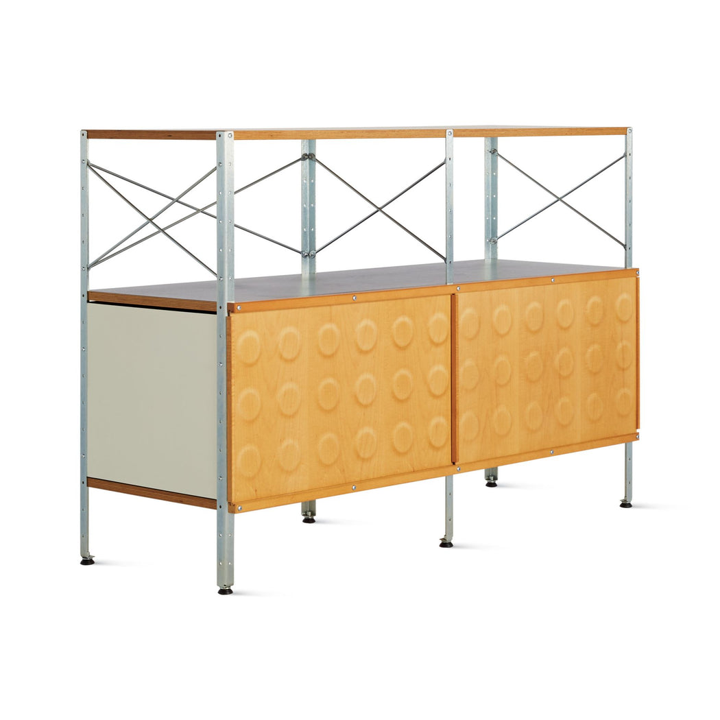 Eames Storage Unit | 2x2 with Doors