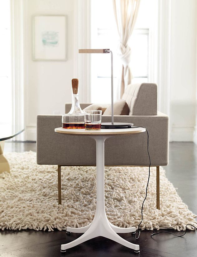 Nelson™ Pedestal Side Table [6 Options]