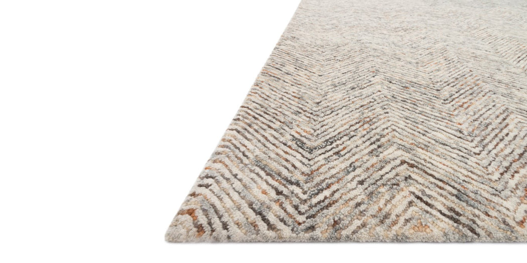 Peregrine Rug | Grey & Multi