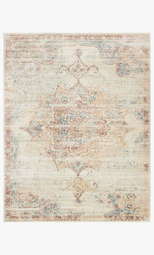 Trousdale Rug | Ivory & Red