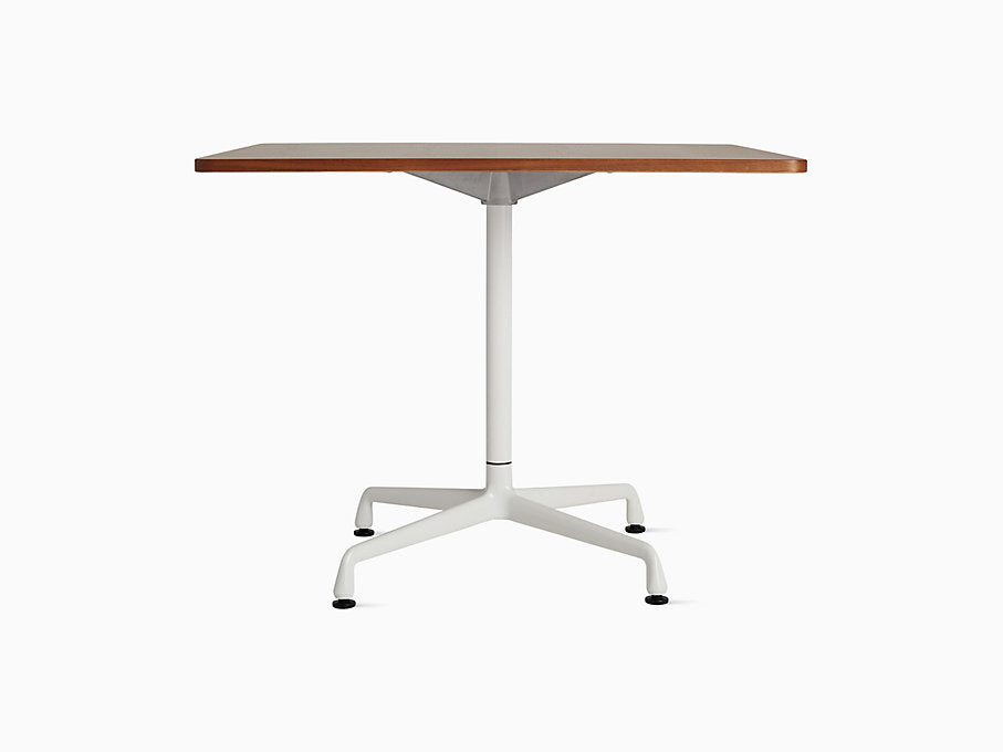 "Eames Universal 36"" Square Table Walnut Top 