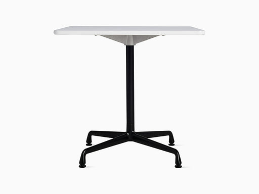 "Eames Universal 30"" Square Table White Top 