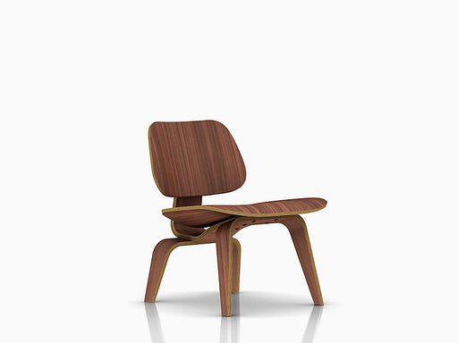 Eames Molded Plywood Lounge Chair with Wood Base | Freeship