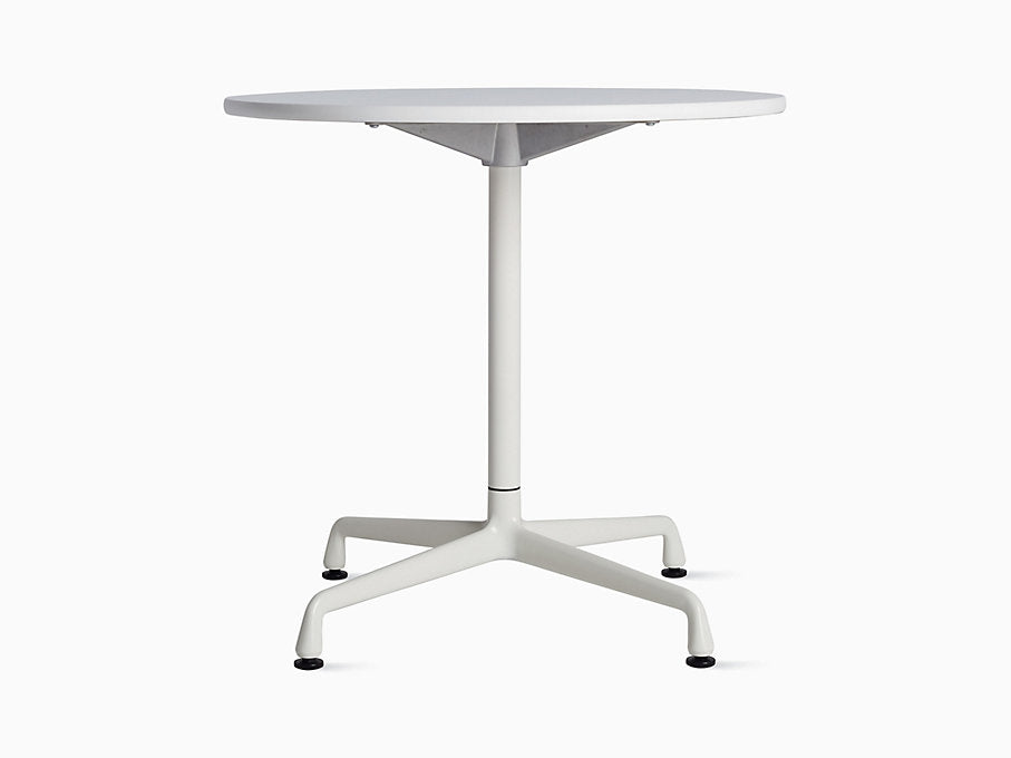 "Eames Universal 30"" Round Table White Top 