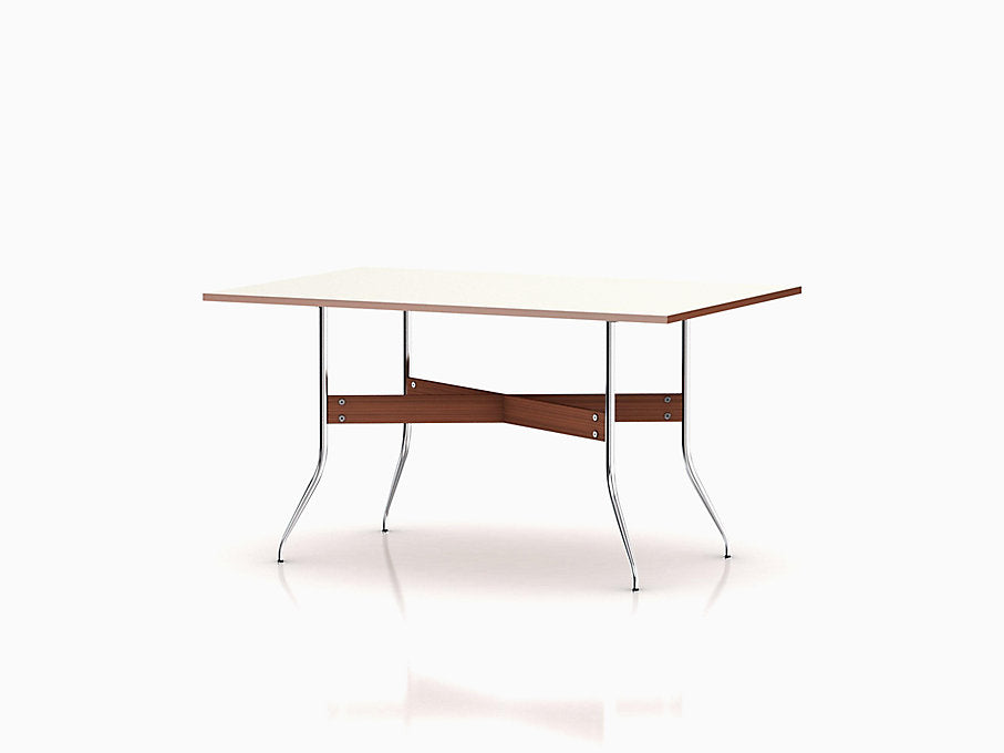 Nelson Swag Leg Dining Table with Rectangular Top | Freeship
