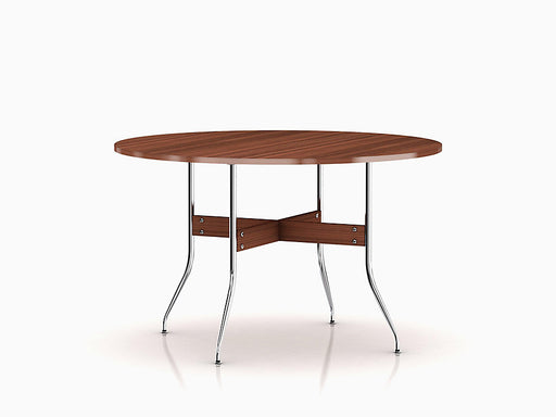 Nelson Swag Leg Dining Table with Round Top | Freeship