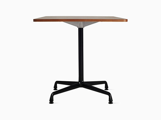 "Eames Universal 30"" Square Table Walnut Top 