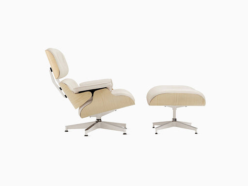 Eames Lounge Chair with Ottoman Ash Frame | Freeship