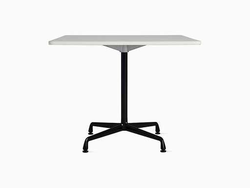 "Eames Universal 36"" Square Table White Top 