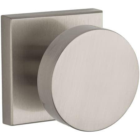 Contemporary Square Rose Door Knob | Passage (5 Finishes)