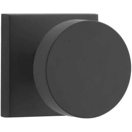 Contemporary Square Rose Door Knob | Privacy (5 Finishes)