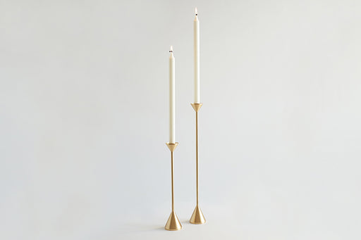 Cone Spindle Candle Holder (2 Sizes)