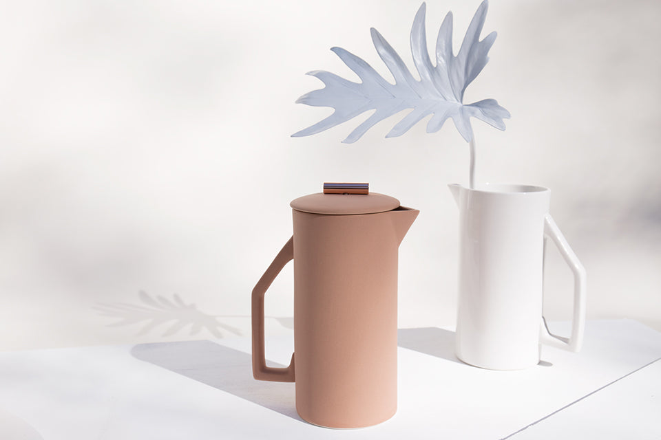 Ceramic Sand French Press