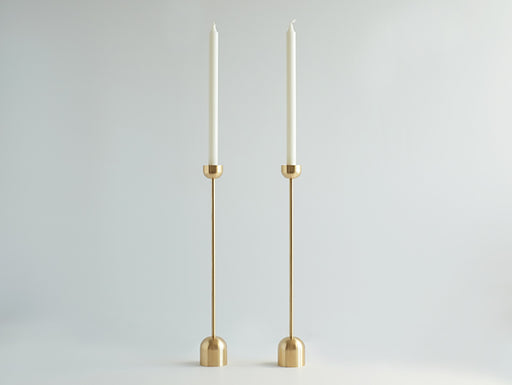 Dome Spindle Candle Holder (2 Sizes)