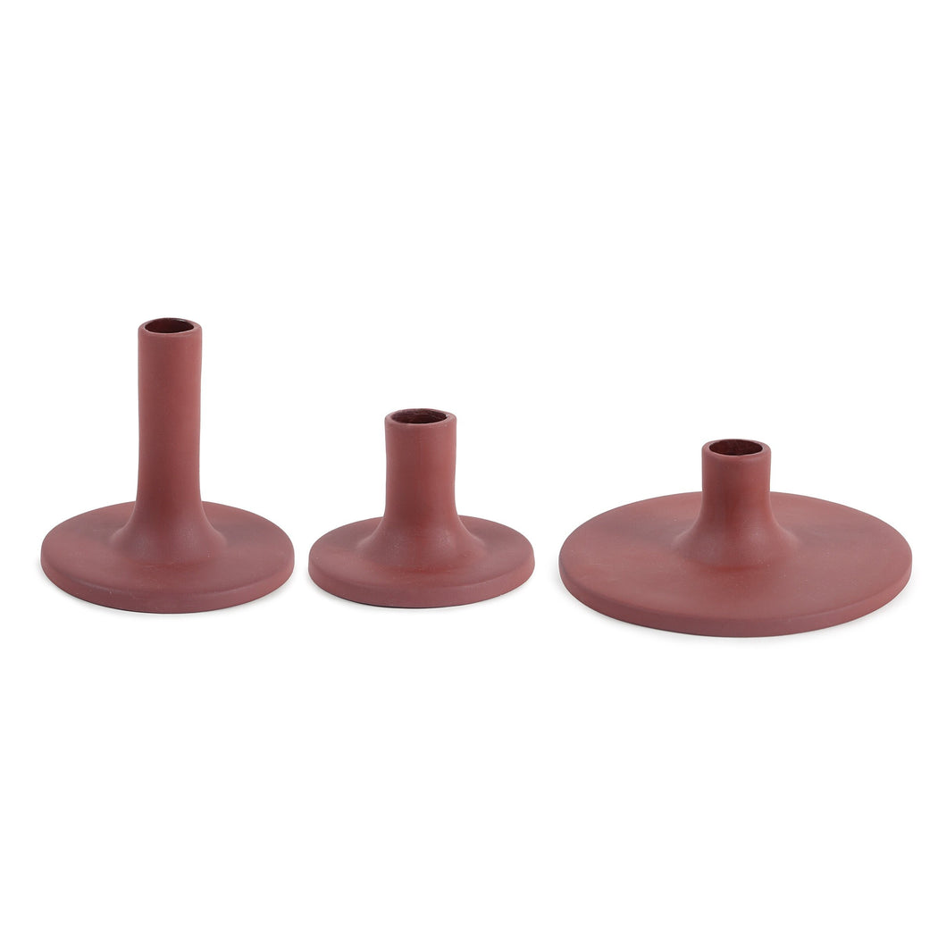 Ceramic Taper Holders (2 Colors )