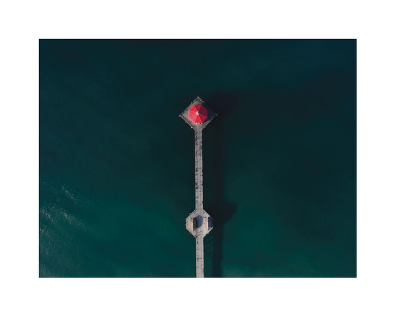 Hb Pier From Above Art Print