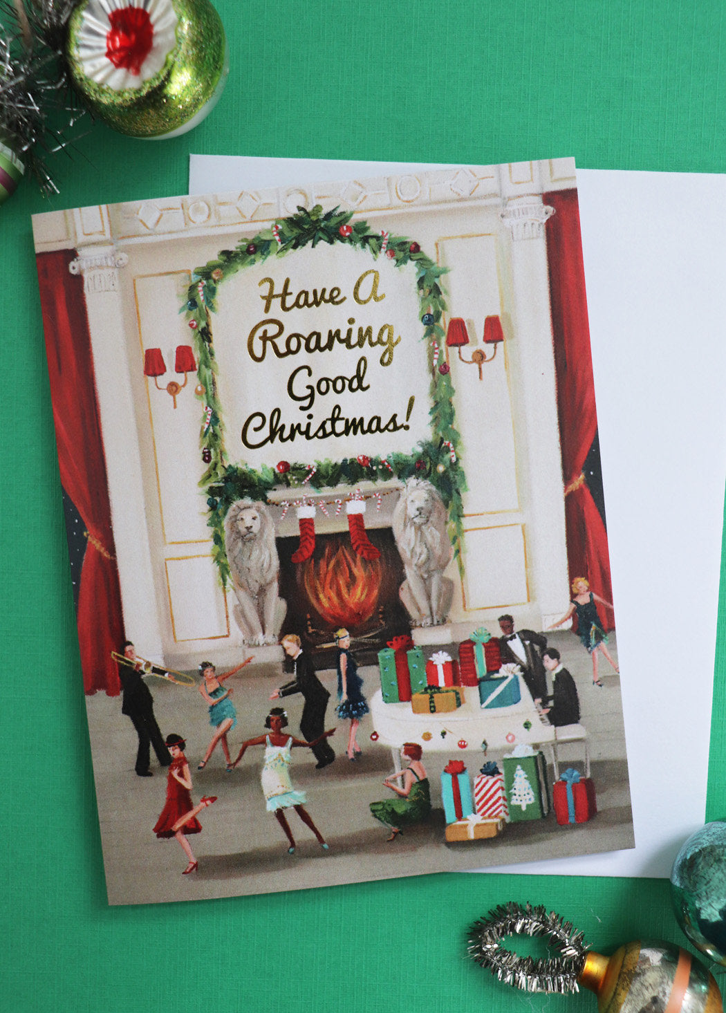 Christmas Card | Have A Roaring Good Christmas