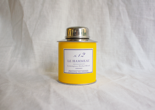 No. 12 Le Hammeau Herbal Tea in Yellow Tin