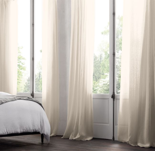 Belgian Sheer Linen | Rod Pocket (6 Colors)