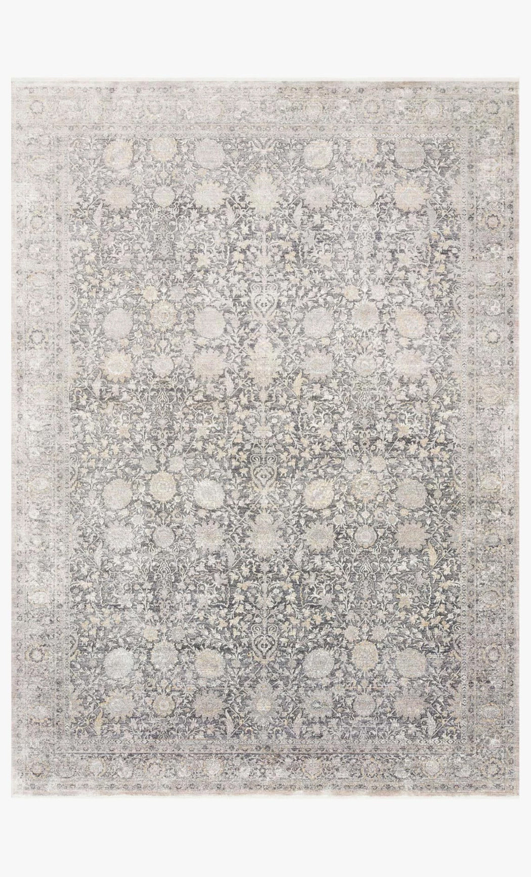 Gemma Rug | Charcoal and Sand