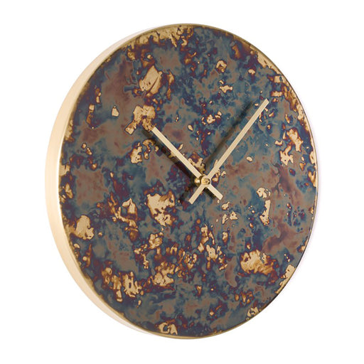 Patina Polychrome Wall Clock