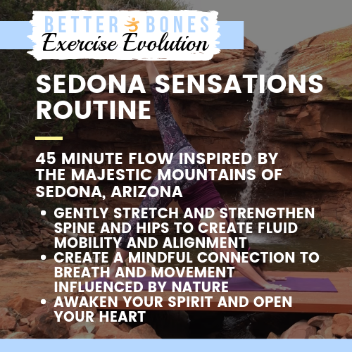 Free! - Sedona Sensations Bone Safe Yoga Flow