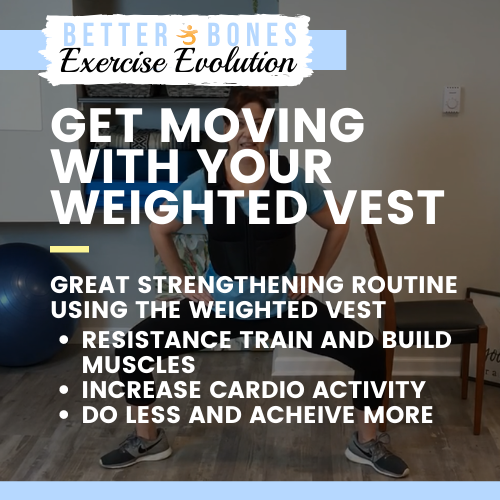 Get Moving with Your Weighted Vest