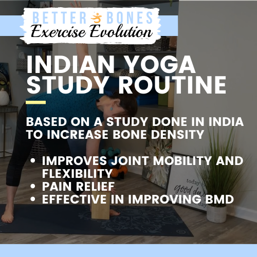 Indian Yoga Study Routine