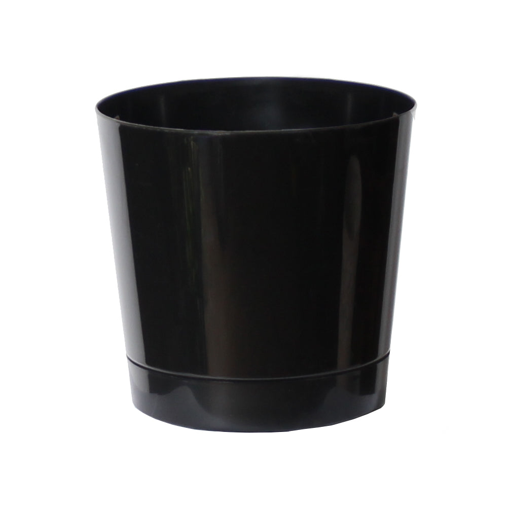 Black Decorative Pot