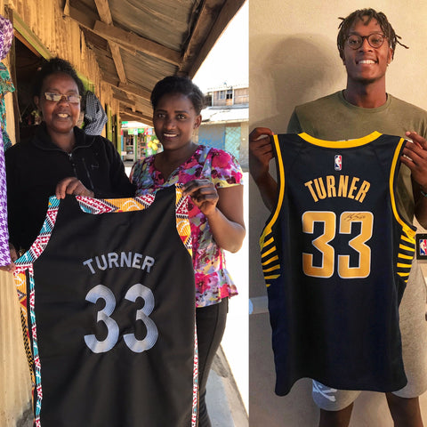 [NBA.com] Turner Jersey Raising Funds for Clean Water