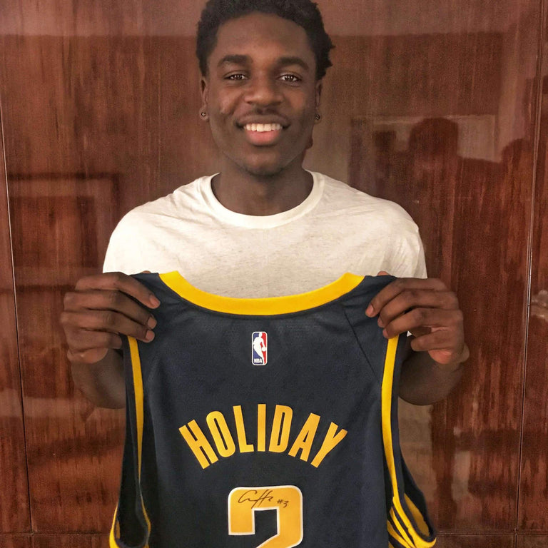 new concept b5e6e b6f8f Aaron Holiday Autographed Jersey – Underdogs United