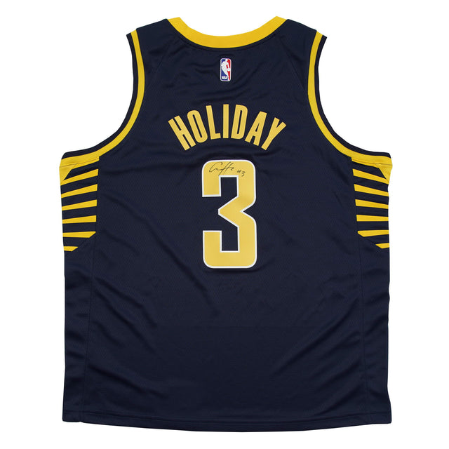 Aaron Holiday Autographed Jersey