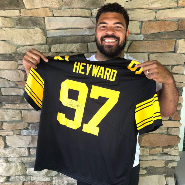 Cam Heyward Autographed Jersey