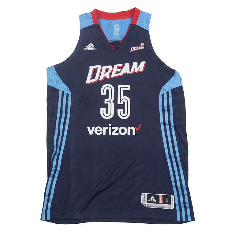 Angel McCoughtry Autographed Jersey