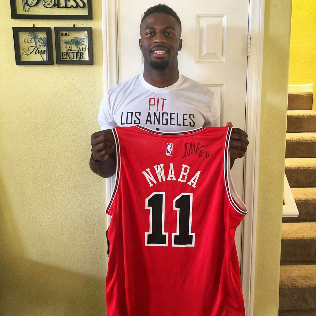 timeless design 033bc 30c7f David Nwaba Autographed Jersey – Underdogs United