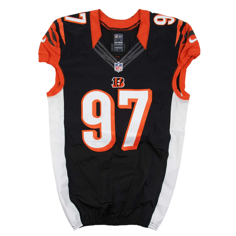 low priced 170f0 683b6 Geno Atkins Game Used Jersey – Underdogs United