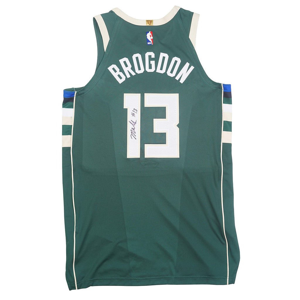 cheap for discount 1b08a 0e3ff Malcolm Brogdon Autographed Game Worn Jersey – Underdogs United