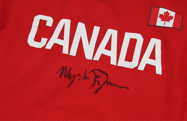 Alysha Newman Autographed Jersey