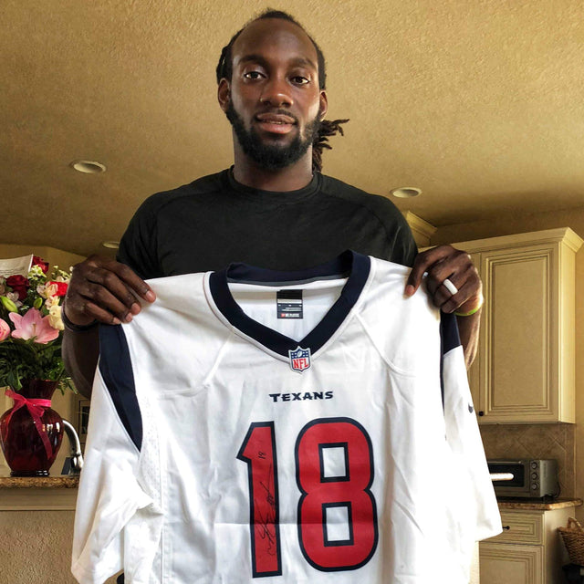 Sammie Coates Autographed Jersey