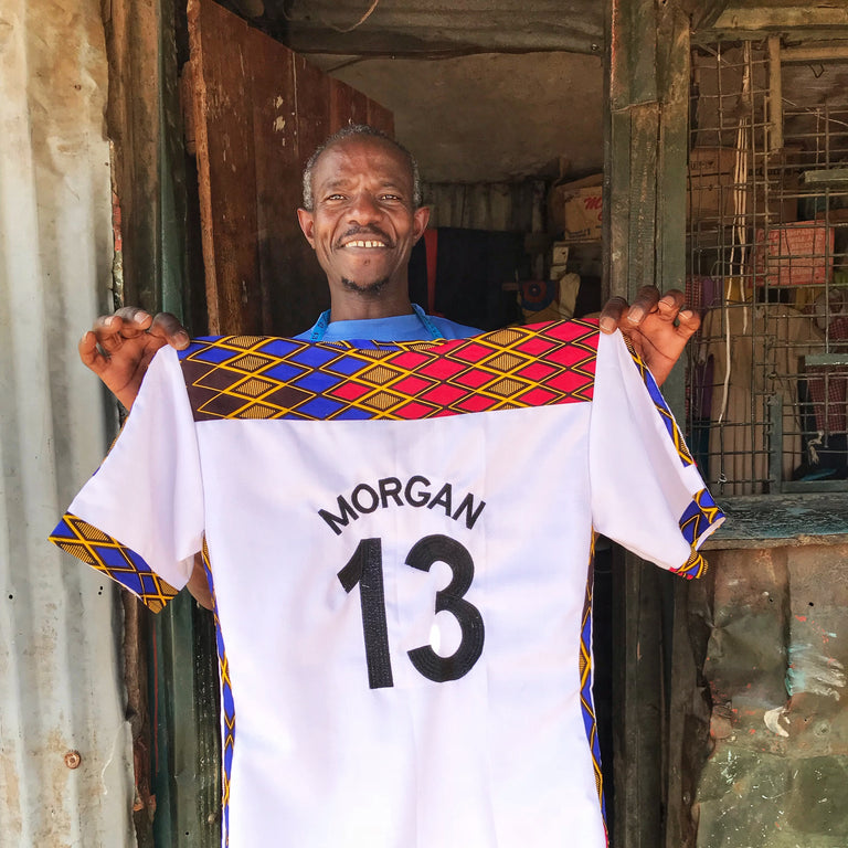 Tom Juma, Tailor - Soccer Jerseys
