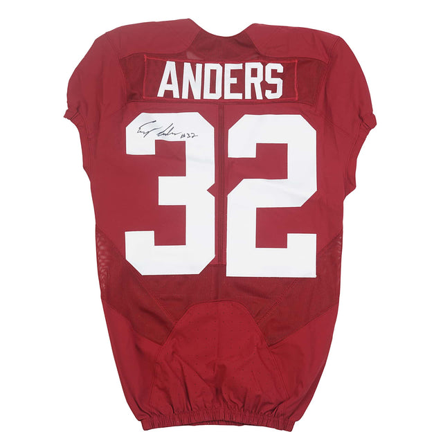 Eryk Anders Autographed Jersey