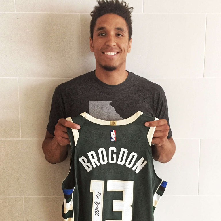 Malcolm Brogdon Autographed Game Worn Jersey