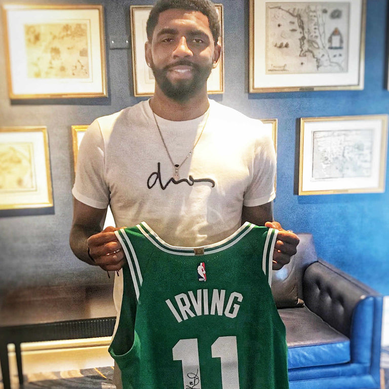 purchase cheap 218b6 b7f74 Kyrie Irving Autographed Jersey – Underdogs United