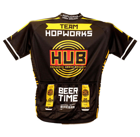 Women's Team Hopworks Bike Jersey