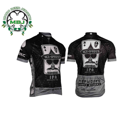 Retro Ace of Spades Bike Jersey