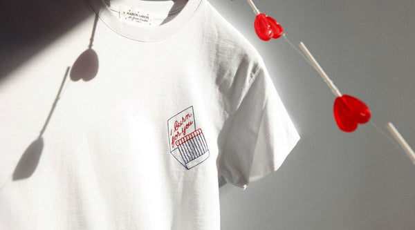 Spreading the love with MAISON LABICHE X JEAN ANDRÉ