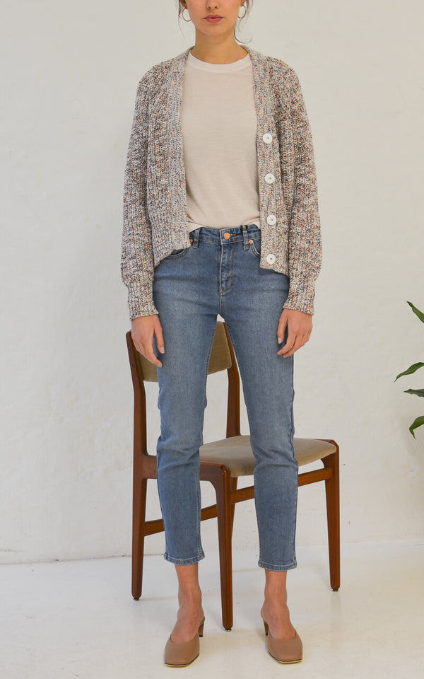 Second Female Agnete Strick Cardigan Front